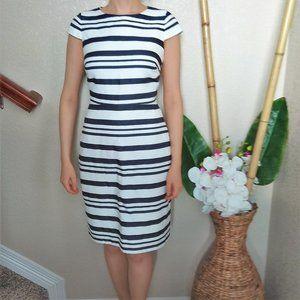Sale! J Crew Striped Cotton Dress